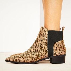 CROWN VINTAGE Adessa Leopard Ankle Booties - 11